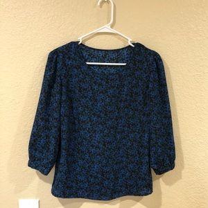 Forever 21 floral print blouse
